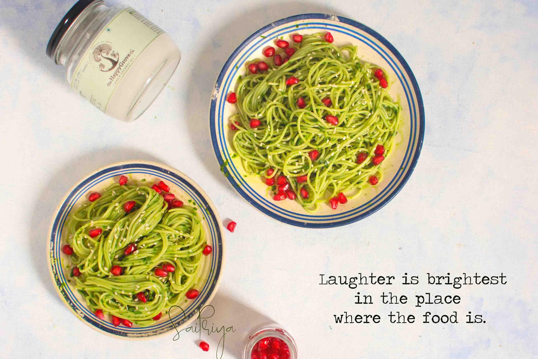 Vegan Spinach Pasta