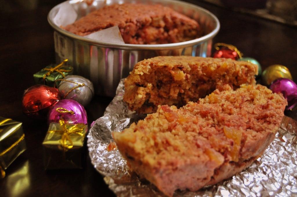 Scarlet-Speckled Cake