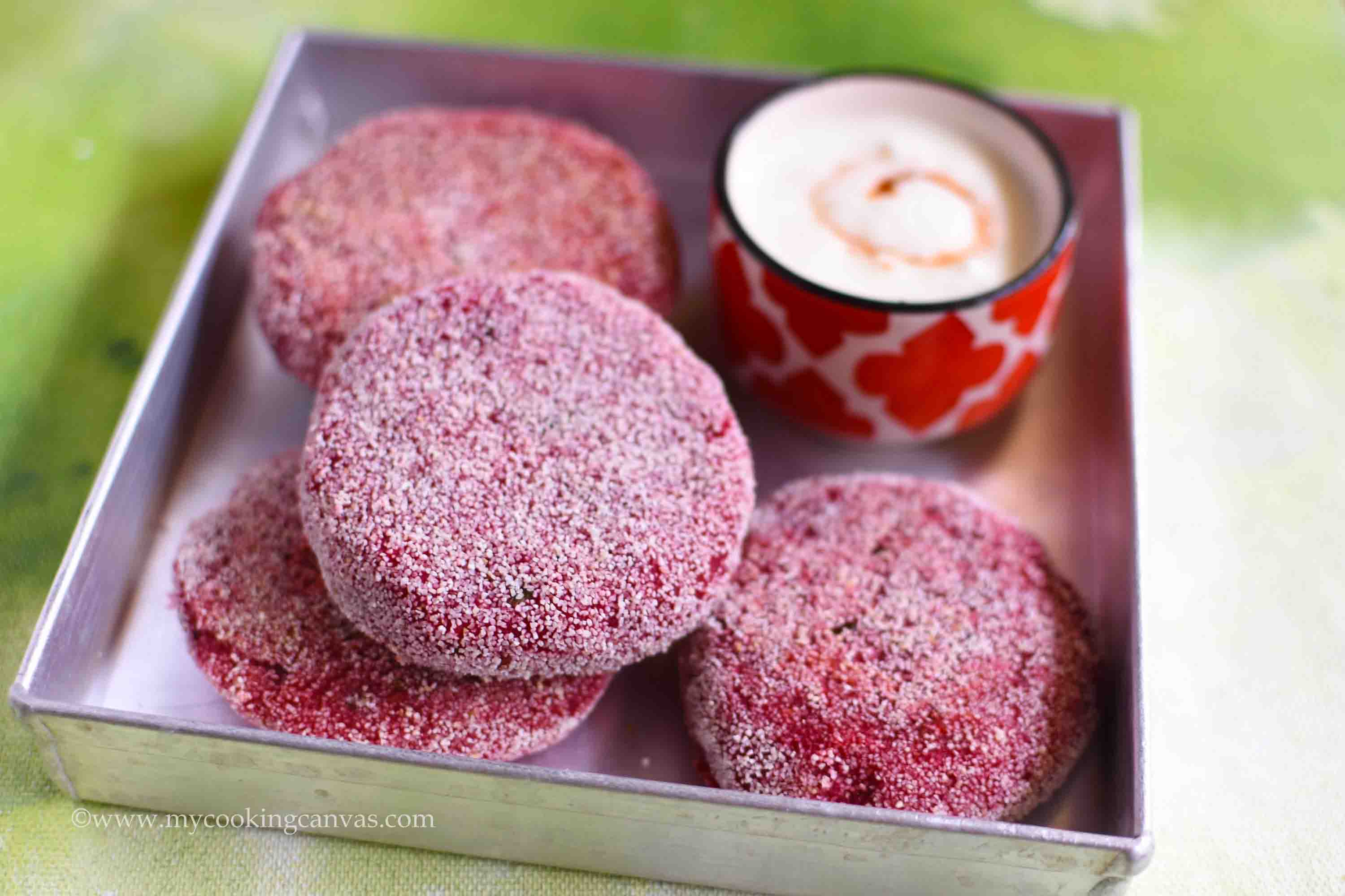 Beetroot Cutlet/ Beetroot Tikki Recipe